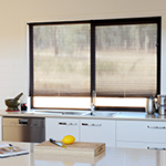 Thumb of transparent Verosol pleated blinds for kitchen decor